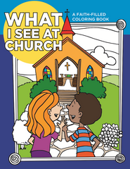 What We See At Church Coloring Book