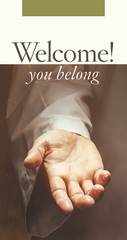 Welcome You Belong Key Tag