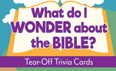 What Do I Wonder About the Bible? - Tear Off Trivia Card Pack
