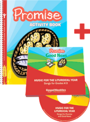 Promise Activity Book + 2 CD Set — Pflaum Gospel Weeklies