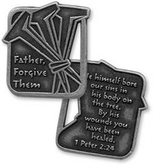 Three Nails Coin - Lenten Reminder