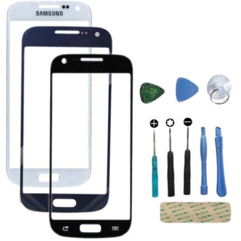 Front Glass Outer Screen Lens For Samsung Galaxy S3 Mini Available in Black and White