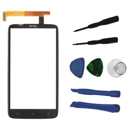 Touch Screen Digitizer Front Lens Replacement For HTC One X With Free Tools