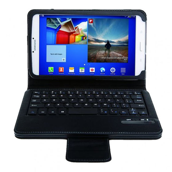 Bluetooth Keyboard Leather Stand Case for Samsung Galaxy Tab 3 10.1 P5200 P5210