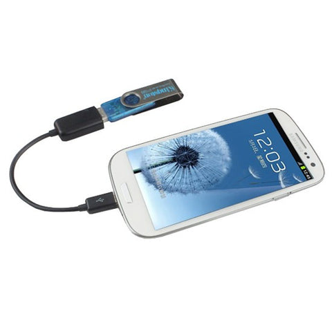 Micro USB Host OTG Adaptor Adapter Cable For Samsung Galaxy Tab 3 7.0 8.0 Note
