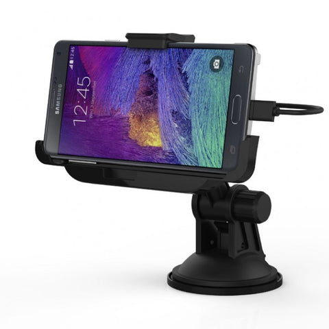 Car Mount Cradle Dock Kit with Charger Cable for Samsung Galaxy Note 4