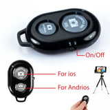 Bluetooth Remote Shutter Wireless Selfie Camera For IOS Android Smart Phones