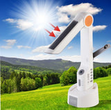 Eco-friendly Solar Lamp LED Torch Light FM Radio Dynamo + Speaker+ Battery Charger