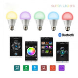 LED Colour Changing Smart Bulb for iOS and Android