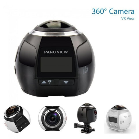 Wireless VR Capable 360 Degree Panoramic Camera 3D 16MP UHD 30fps Waterproof