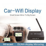 Wireless Mirabox Stream Phone or Tablet to LCD Vehicle Monitor