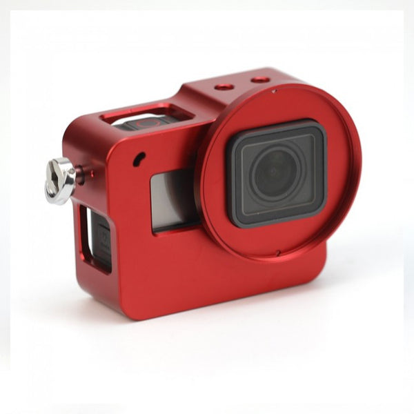 Gopro Hero 5 Aluminum Alloy Protective Frame Housing Case Mount with Lens