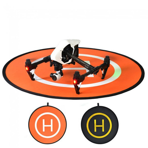 Fast-Fold Two Colour Landing Field Pad For Drones