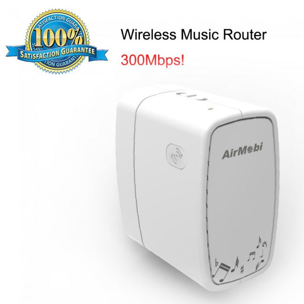 Airmobi iPlay2 WiFi Wireless Music Router Receiver For iOS, Android
