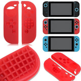 Nintendo Switch Anti-Slip Silicon Cover Case With Detachable Joycon Covers (Black)