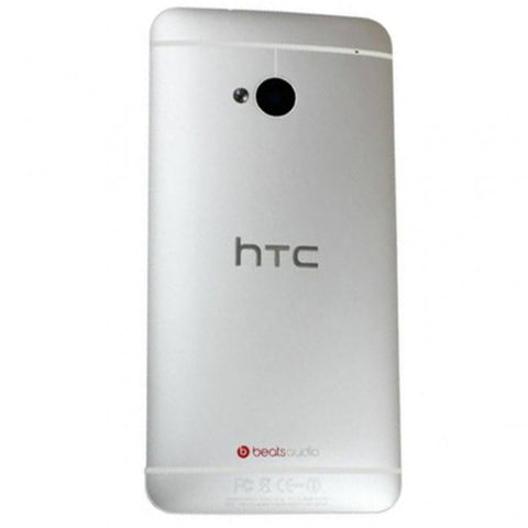 Silver Premium Replacement for HTC One 801s M7 Cover Housing