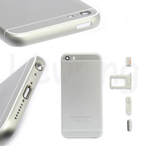 Replacement Housing Back Cover Metal Case for iPhone 5G/5S To iPhone 6 Mini