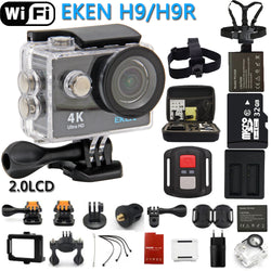 Ultra 4K HD Waterproof Action Camera- WiFi Remote Control