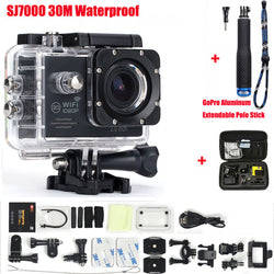 Action Camera 2.0 inch Wifi 1080P Go Pro Style Waterproof 30M + Extras