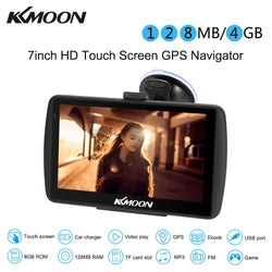 "7"" HD Portable Touch Screen GPS/MP3/Entertainment System 128MB 4GB"