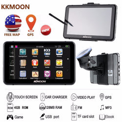 "7"" HD Touch Screen - GPS/Video Player/Entertainment System/MP3"