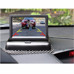 "4.3"" Foldable LCD Car Monitor (Also Suitable For Reverse Cam)"
