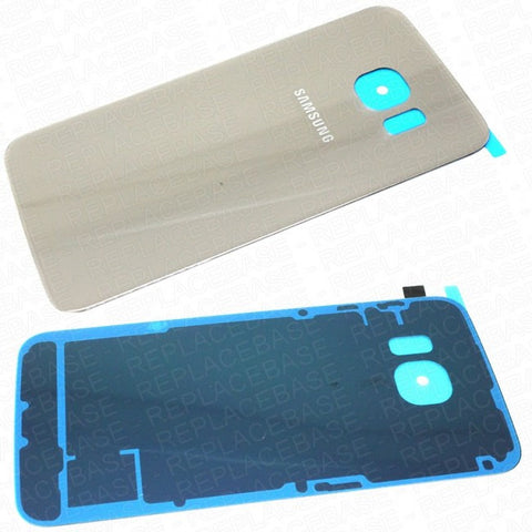 Genuine Samsung S6 Edge Replacement Glass Battery Cover