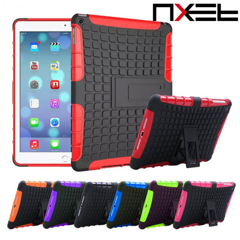 Heavy Duty Shockproof Tradesman Hard Case With Stand Holder For Apple iPad Mini 4