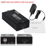 1080P Mini HDMI to SDI Converter Adapter HDTV Camera 720P