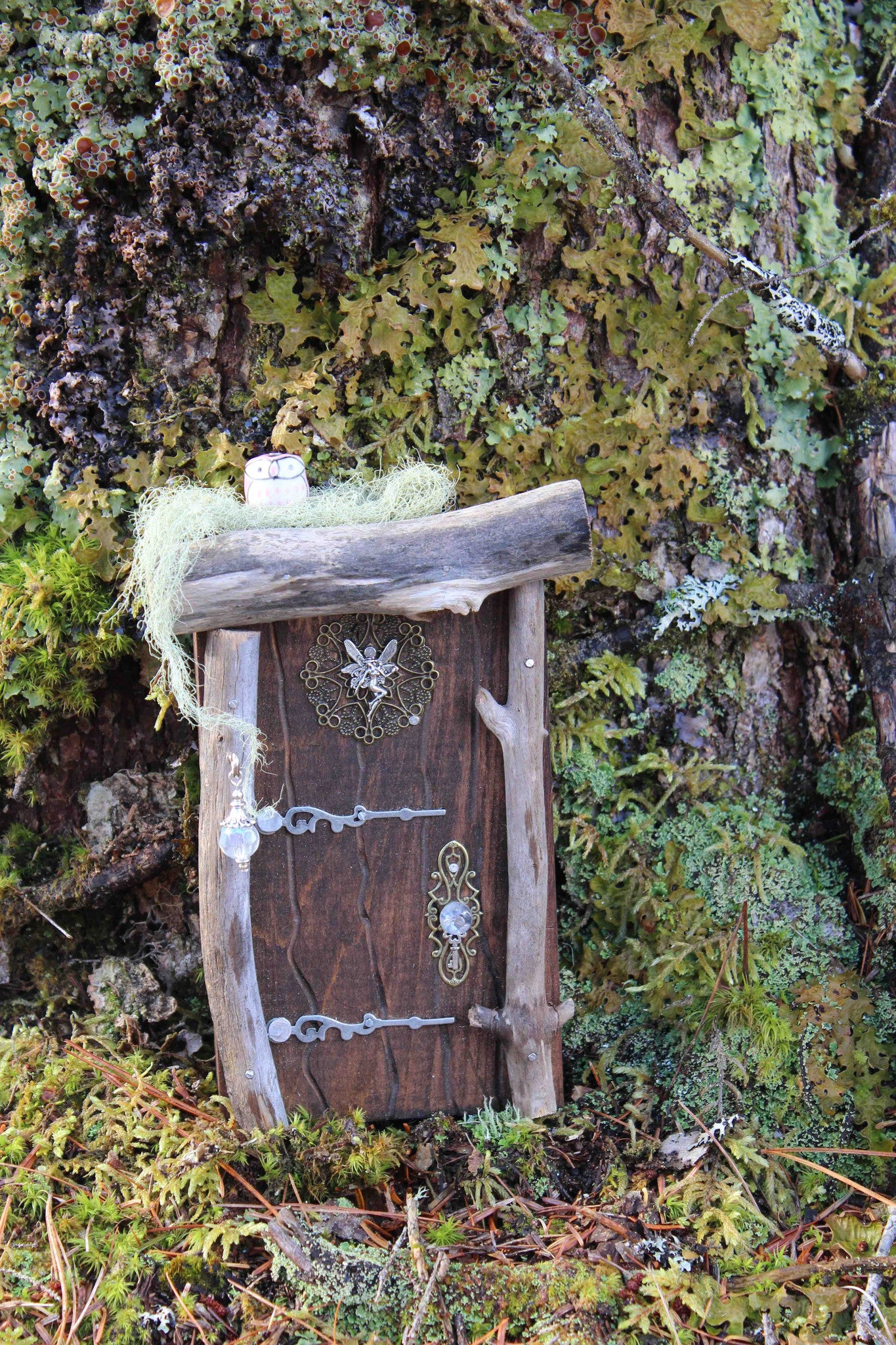 brown fairy door