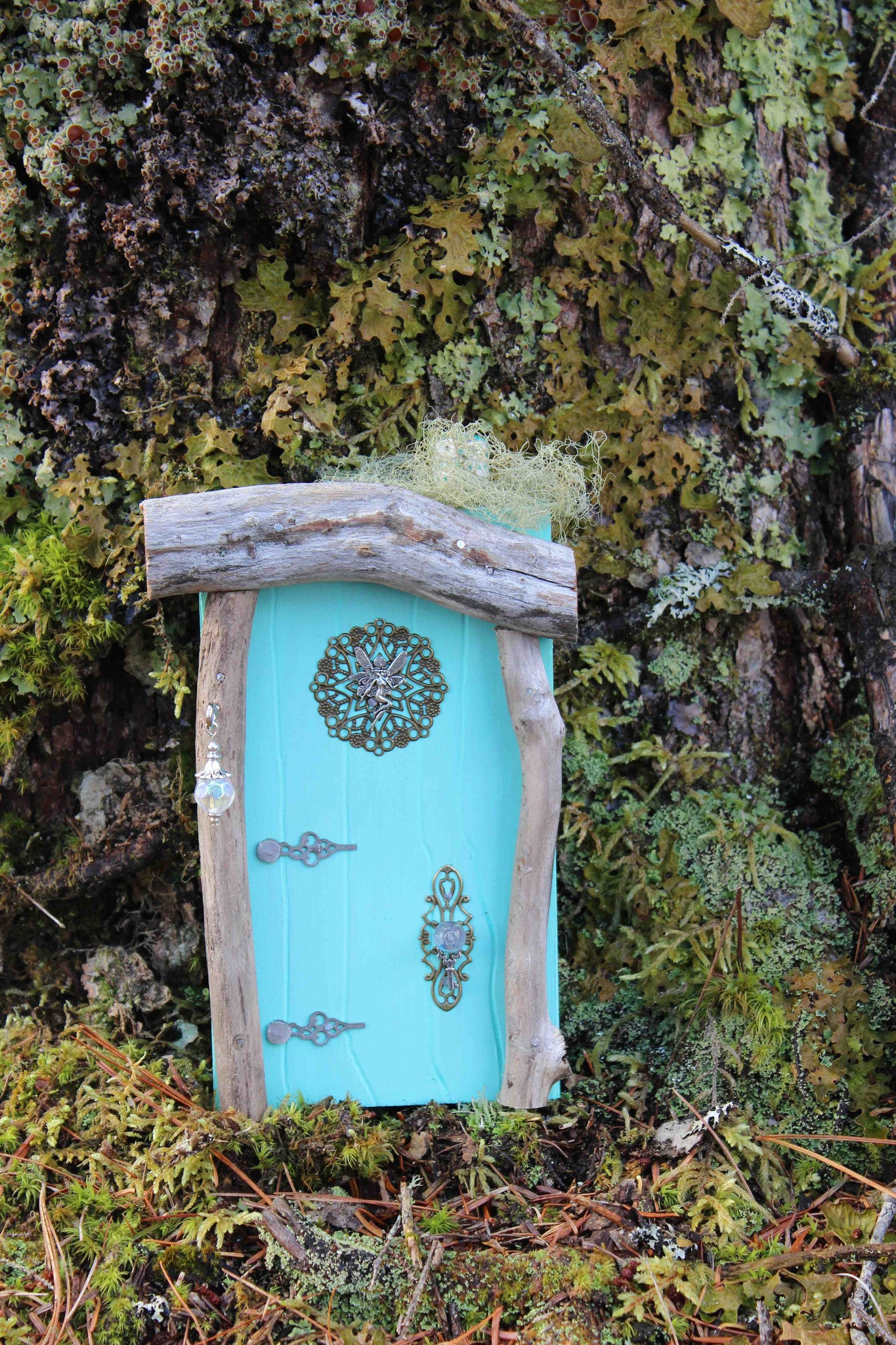 waterdrop aqua blue fairy door