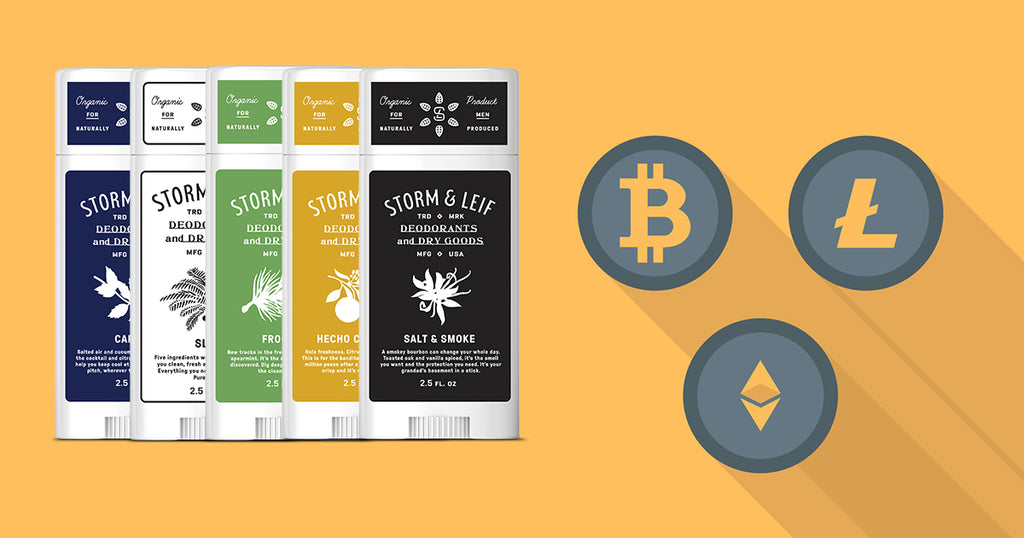 The All Natural Deodorant That's Now Cryptocurrency Friendly