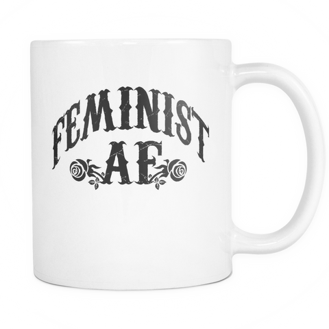 Feminist AF novelty Coffee mug