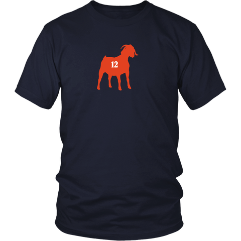 Tom Brady GOAT Greatest of all time Tee - New England Patriots Champions