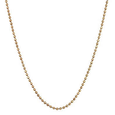 14kt Yellow Gold Ball Chain - 30 inches