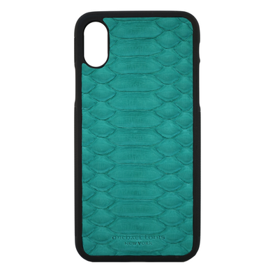 Aqua Python iPhone XR Case