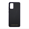 Black Pebbled Leather Galaxy S20 Plus Case