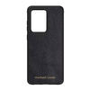Black Pebbled Leather Galaxy S20 Ultra Case
