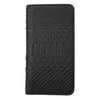 Black Python iPhone 12 / 12 Pro Folio Wallet Case