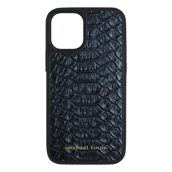Black Python iPhone 12 Mini Case