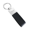 Black Croc Classic Key Holder