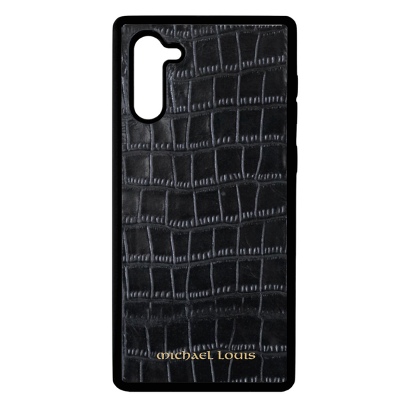 Black Croc Galaxy Note 10 Case