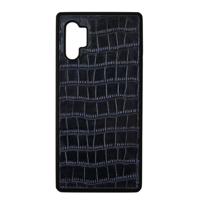 Black Croc Galaxy Note 10 Plus Case
