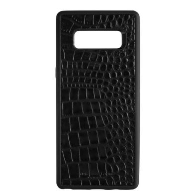 Black Croc Galaxy Note 8 Case
