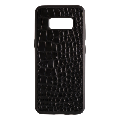 Black Croc Galaxy S8 Case