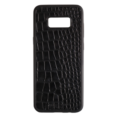 Black Croc Galaxy S8 Plus Case