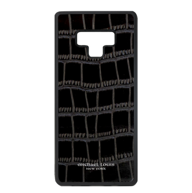 Black Croc Galaxy Note 9 Case