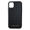 Black Croc iPhone 11 Case