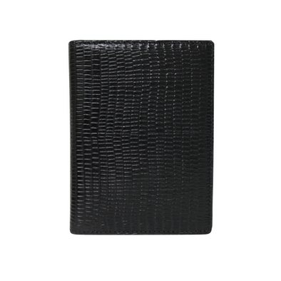 Black Lizard Passport Holder