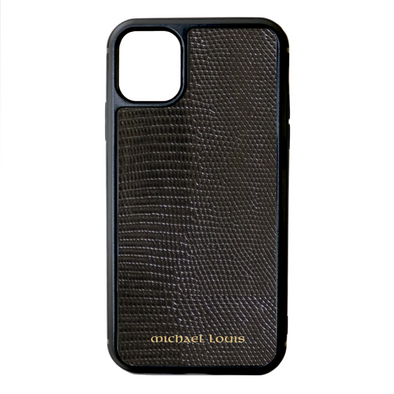 Black Lizard iPhone 11 Case